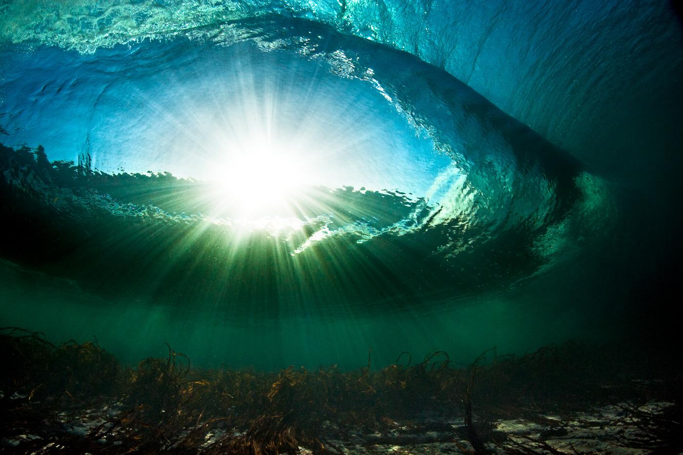 amazing waves underwater ireland