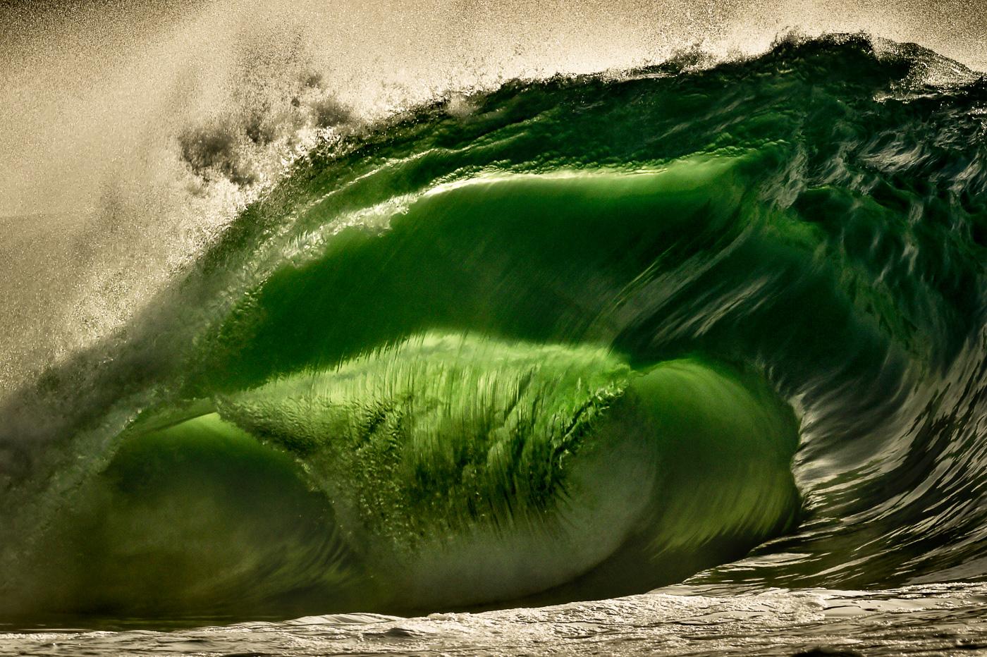 crazy stormy wave mutant ireland