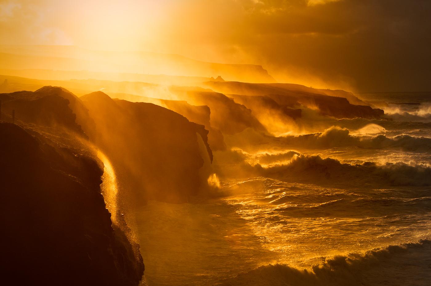 giant storm doolin cliffs