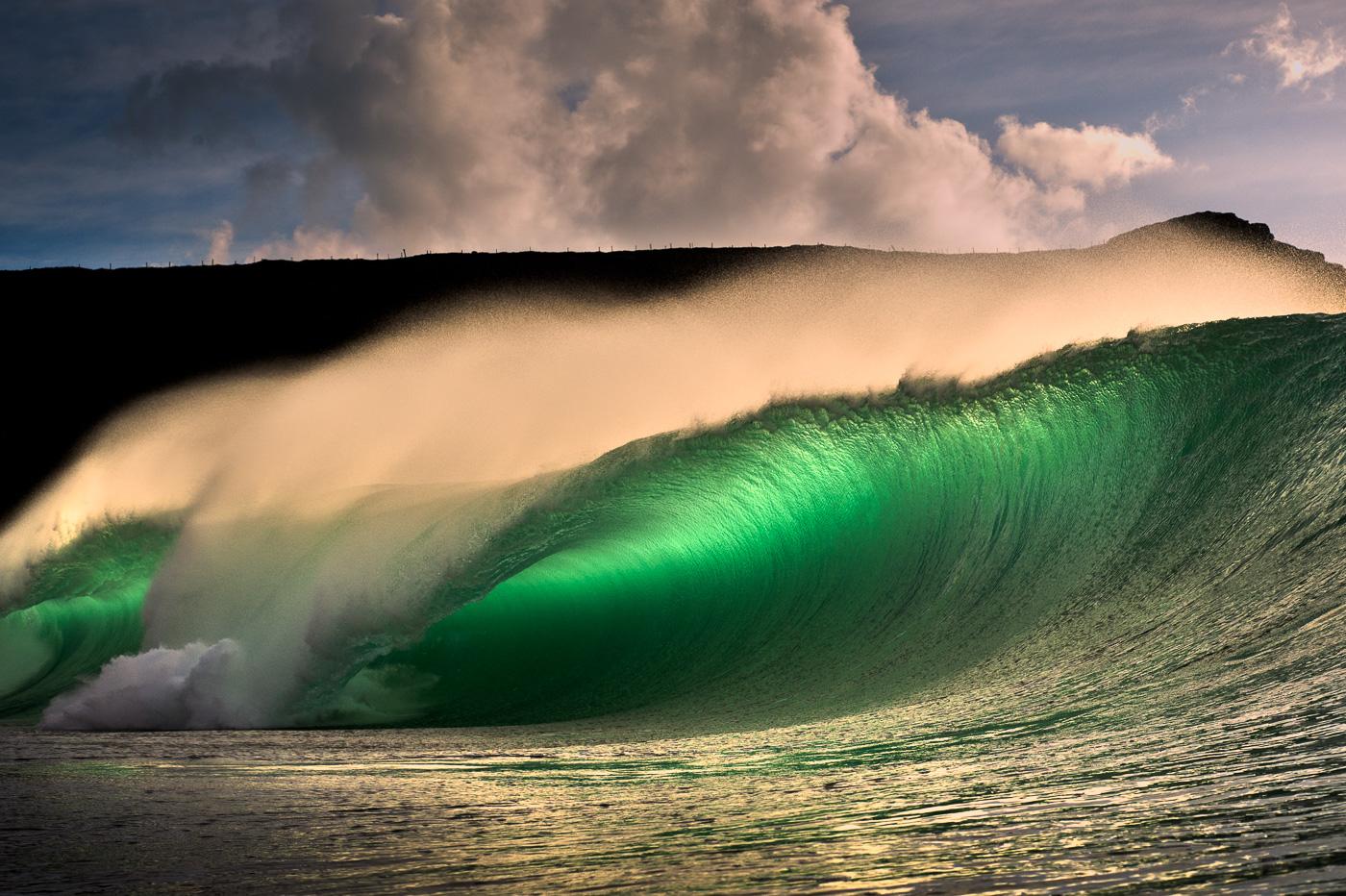 rileys big waves ireland