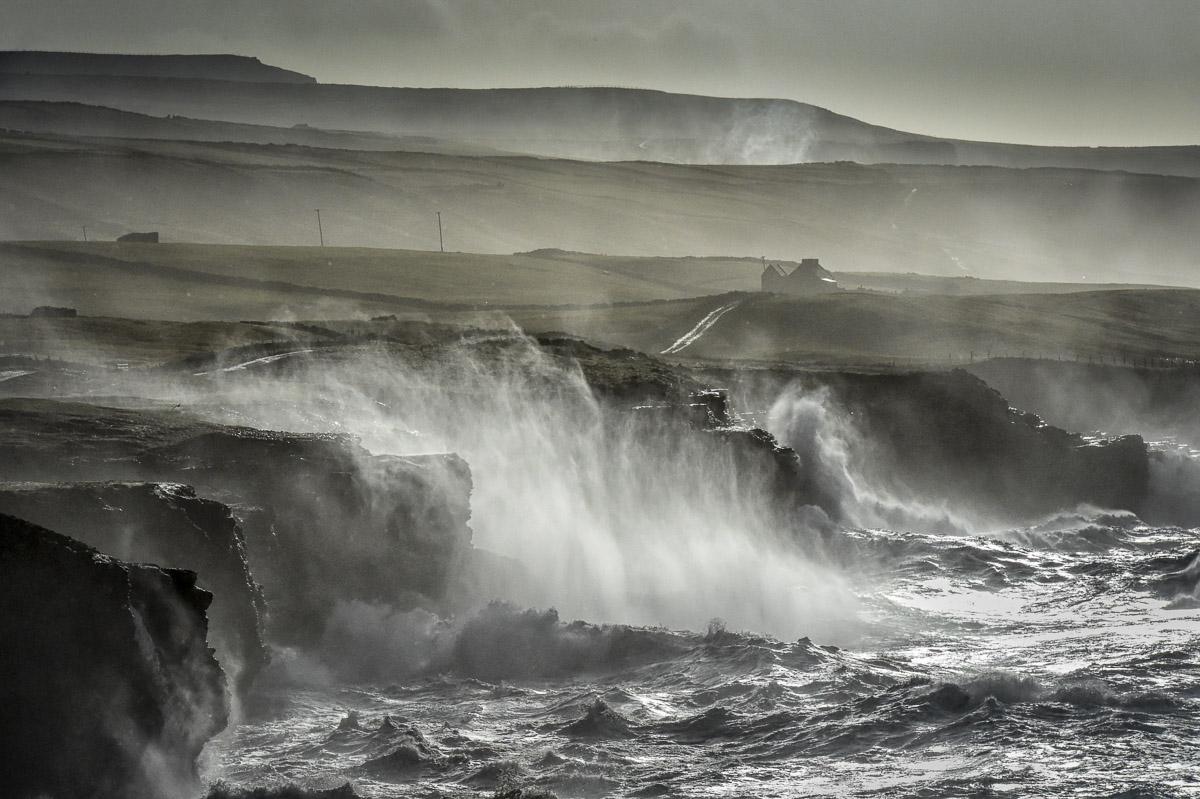 atlantic storm doolin cliffs