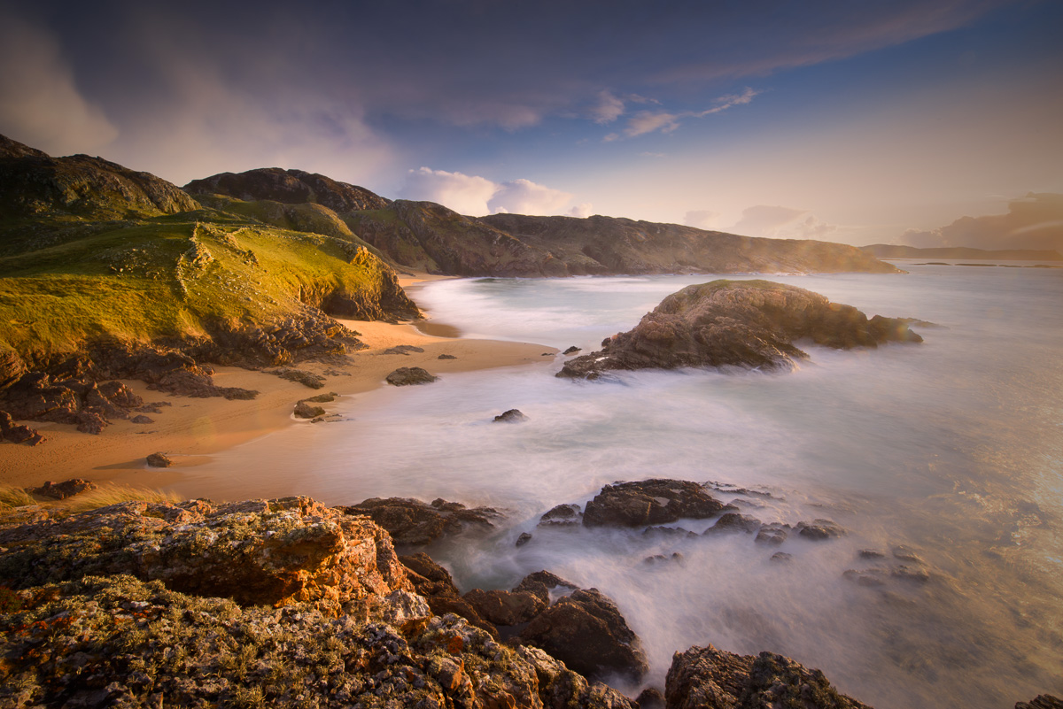 beautiful beach donegal photos