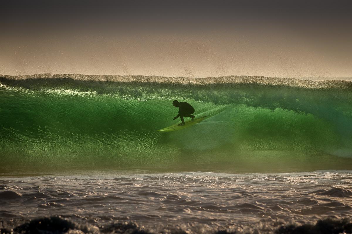 surfing ireland crab island emerald  wave