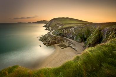 coumeenoole beach kerry irish scenery