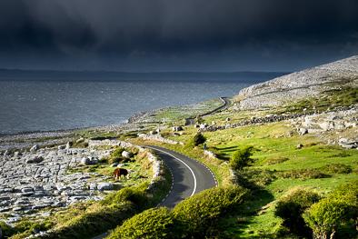 Burren coast road Ireland