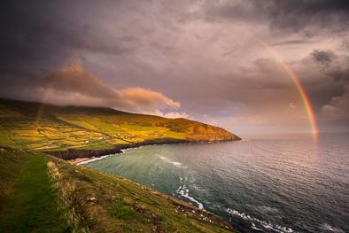rainbow ireland dingle