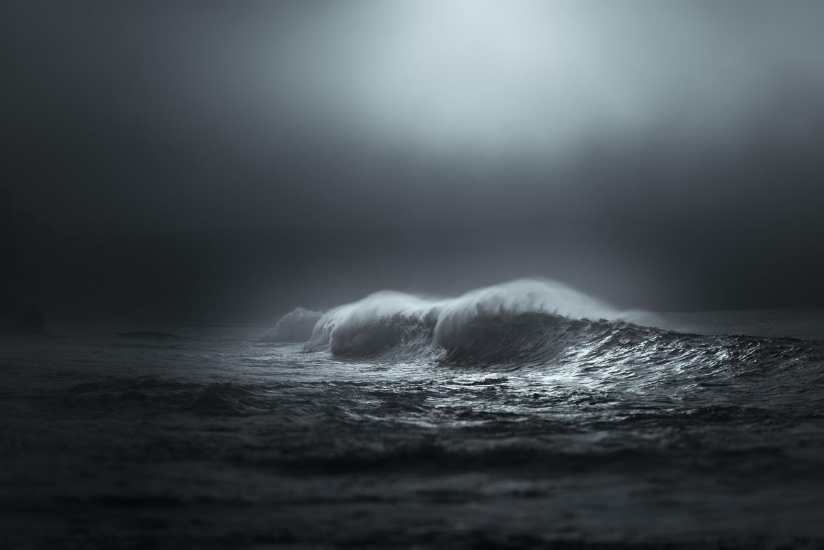 wave fog art atmospheric photo