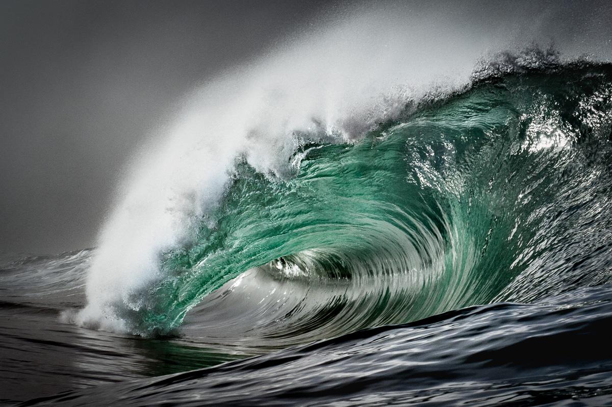 green barrel wave Ireland