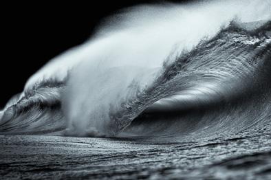 black and white art wave photos ireland